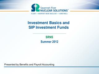 Investment Basics and  SIP Investment Funds