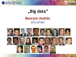 """Big  data """
