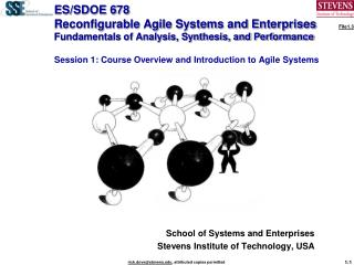 School of Systems and Enterprises Stevens Institute of Technology, USA