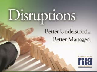 The Tools To Better Manage Disruptions