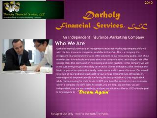 Darholy  Financial Services,  LLC