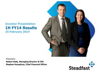 Investor Presentation     1H FY14 Results 24 February 2014