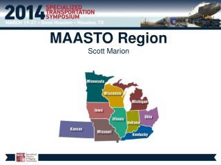 MAASTO Region  Scott Marion