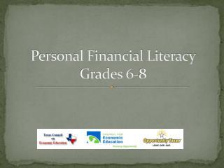 Personal Financial Literacy  Grades 6-8