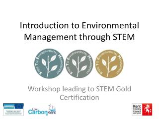 Introduction to Environmental Management through STEM
