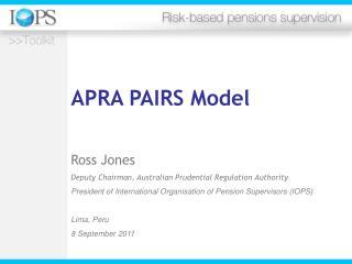 APRA PAIRS Model
