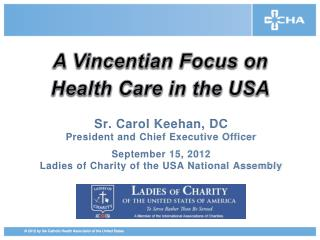 A Vincentian Focus on Health Care in the USA