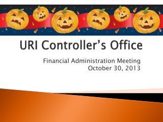 URI Controller's Office