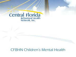 CFBHN Children's Mental Health