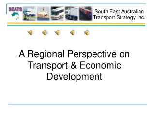 A Regional Perspective on Transport & Economic Development