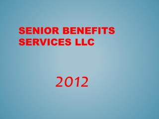Senior Benefits Services LLC