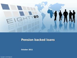Pension backed loans