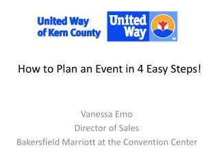 How to Plan an Event in 4 Easy Steps!