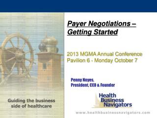 Penny Noyes,  President, CEO & Founder