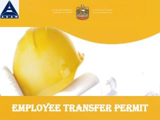Employee Transfer Permit