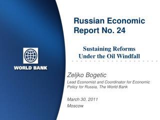 russian economic report no. 24