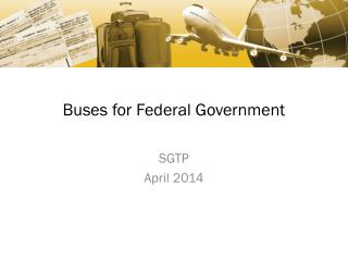 Buses for Federal Government