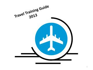 Travel Training Guide 2013