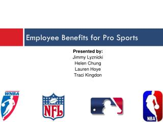 Employee Benefits for Pro Sports