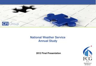 National Weather Service Annual Study