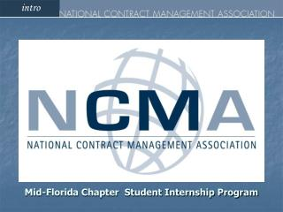 Mid-Florida Chapter  Student Internship Program