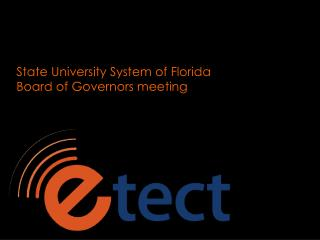 State University System of Florida Board of Governors meeting