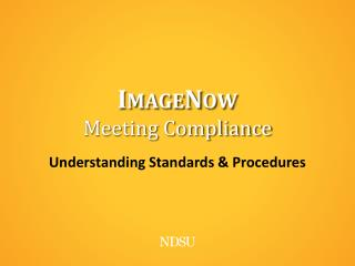 ImageNow Meeting Compliance