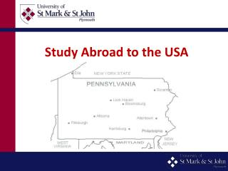 Study Abroad to the USA
