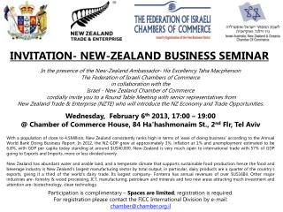 INVITATION- NEW-ZEALAND BUSINESS SEMINAR