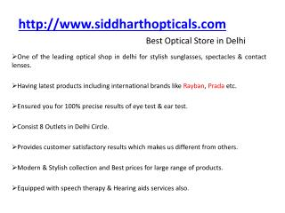 Contact lenses in Delhi