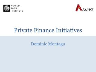 Private Finance Initiatives