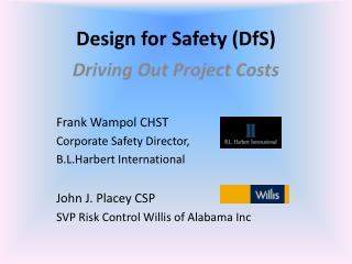 Design for Safety (DfS)