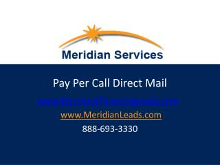 Pay Per Call Direct Mail