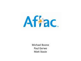 Michael Boone Paul  Gerwe Matt  Stasie