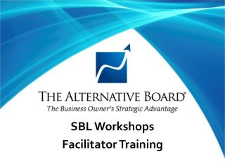 SBL Workshops Facilitator Training
