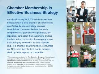 Chamber Membership  is  Effective Business Strategy