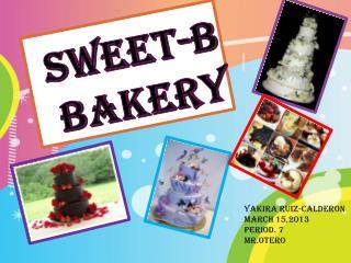 Sweet-b bakery