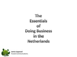 The Essentials of  Doing Business in the Netherlands
