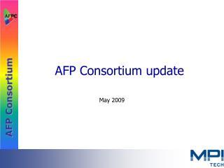 afp consortium update