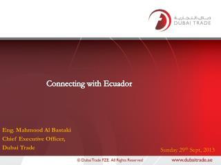 Connecting with Ecuador