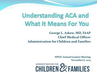 Understanding ACA and What It Means For You