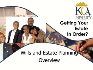 Getting Your Estate  In Order?