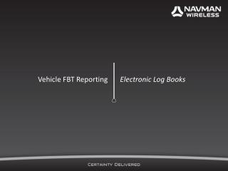Vehicle FBT Reporting