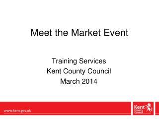 Meet the Market Event
