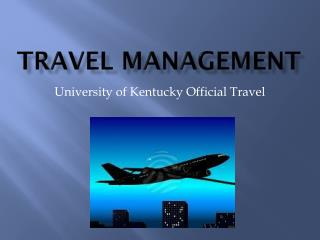 Travel Management