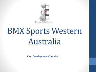 BMX Sports Western Australia