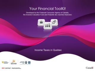 Income Taxes in Quebec