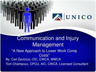 Communication and Injury Management