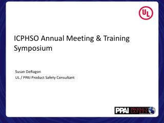 ICPHSO Annual Meeting & Training Symposium