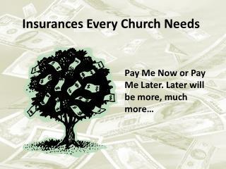 Insurances Every Church Needs